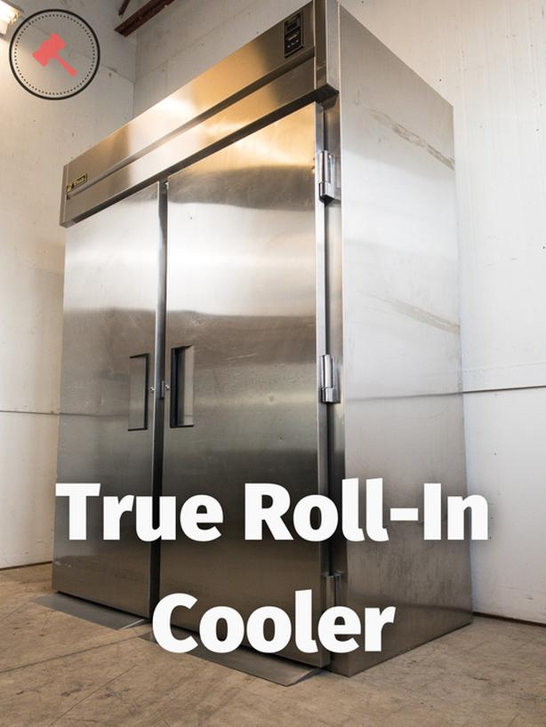 True Two-Section Roll-In Refrigerator