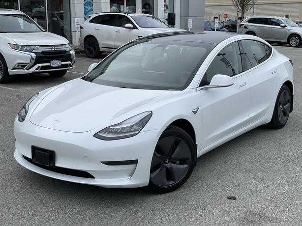 2020 Tesla Model 3 Clean, 1 owner, BC - HIGH TRADE VALUES RWD