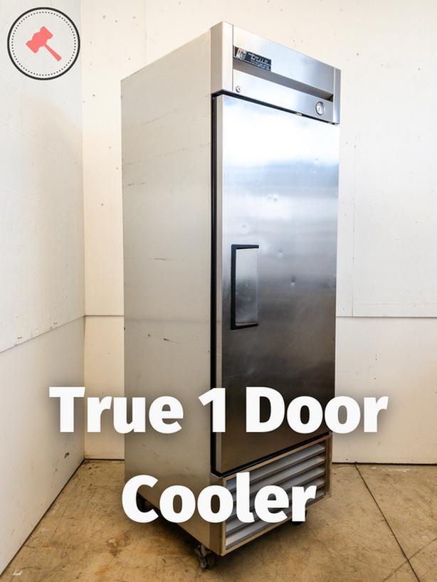 True 1 Door Cooler T-23