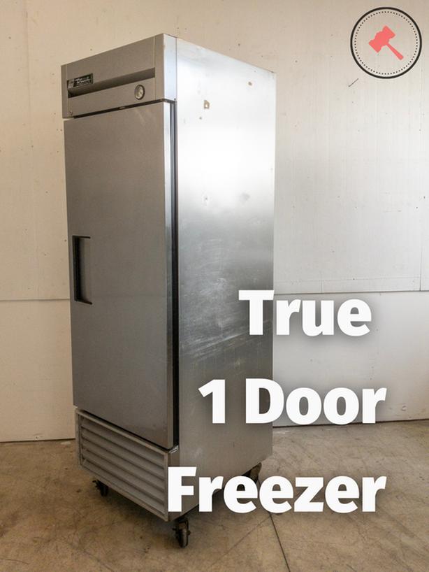 True 1 Door Freezer T-23F