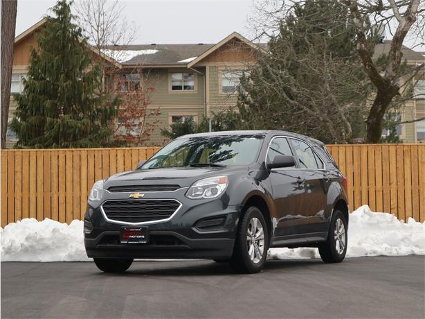 2017 Chevrolet Equinox 2.4L 4 Cylinder, FWD, Automatic - BLUETOOTH!