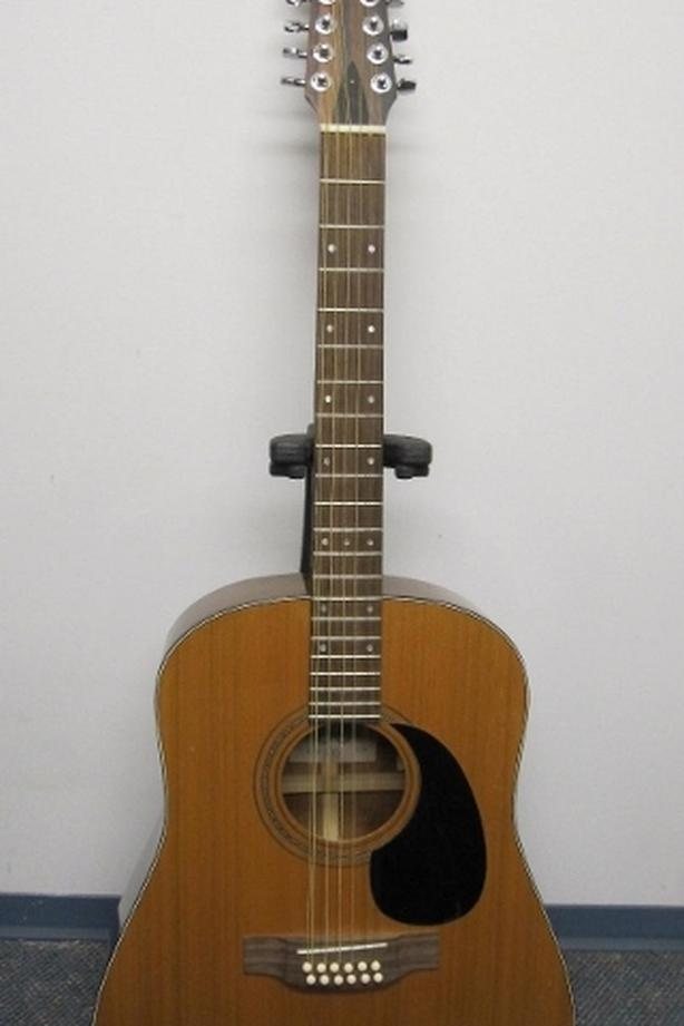 VINTAGE!! LYS ALL SOLID WOOD 12 string acoustic guitar