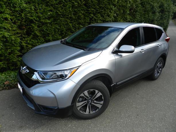 2017 Honda CR-V LX AWD w/100 km Factory Warranty