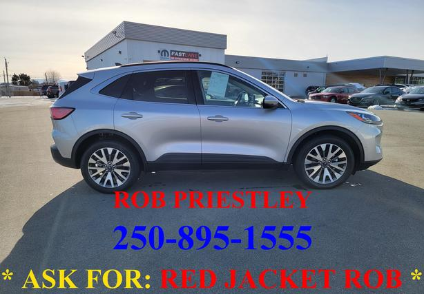 2020 FORD ESCAPE HYBRID TITANIUM AWD * ask for RED JACKET ROB *