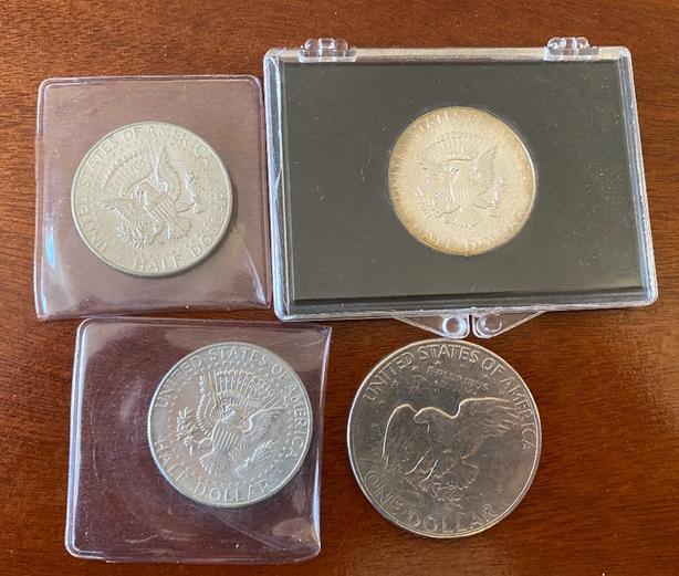 USA Kennedy Silver Half Dollars