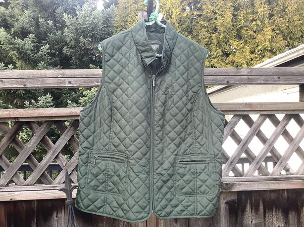Northern Reflections quilted vest