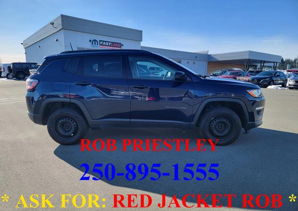 2017 JEEP COMPASS SPORT 4X4 * ask for RED JACKET ROB *