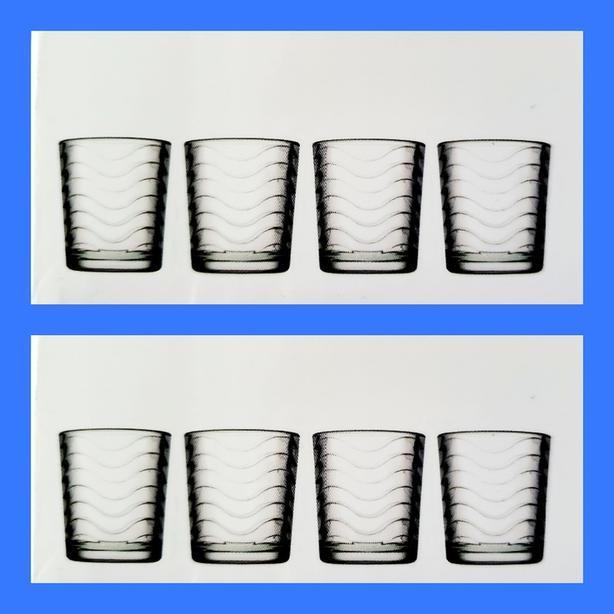 8 Glasses / Tumblers