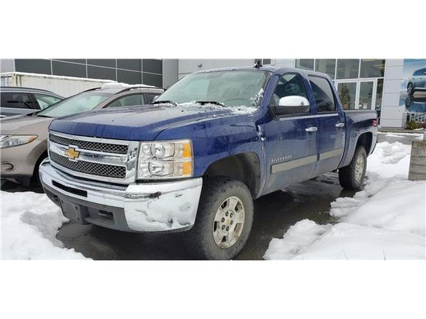 2013 Chevrolet Silverado 1500 LT 4x4 Crew Cab 5.75 ft. box