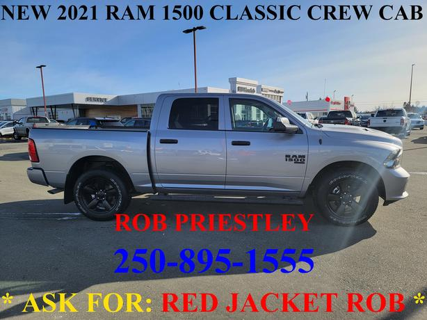 2021 RAM 1500 CLASSIC CREW CAB EXPRESS 4X4 * ask for RED JACKET ROB *