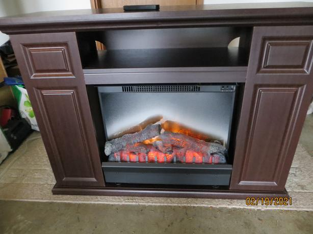 TV Cabinet With Excellent Dimplex Electric Fireplace