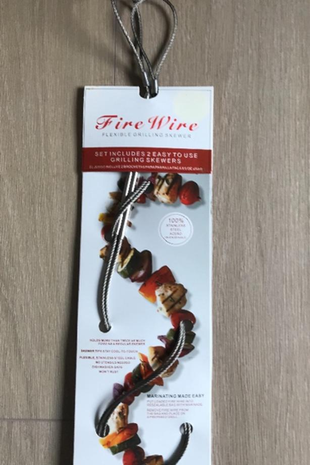 New Fire Wire Flexible Grilling Skewers Set of 2 $7