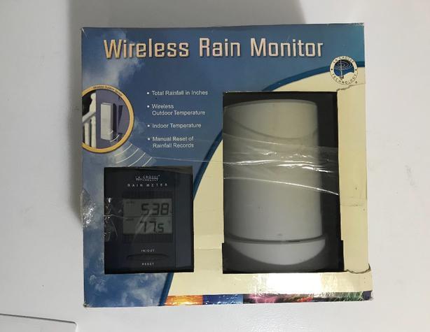 New LaCrosse Wireless Rain & Temperature Monitor $25
