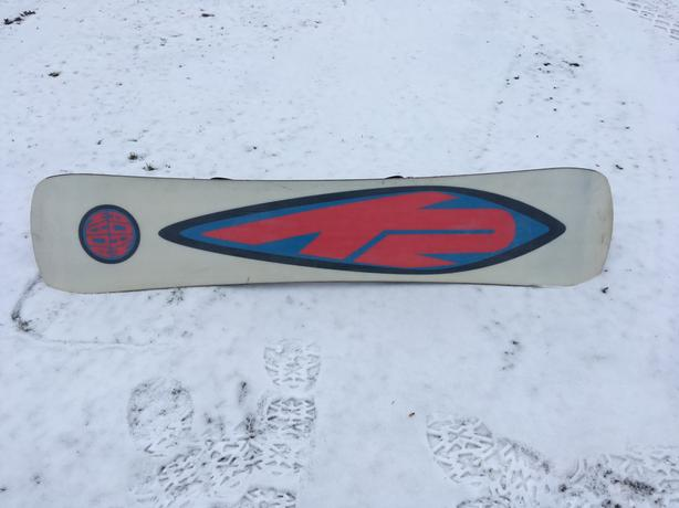 Snowboard & bindings