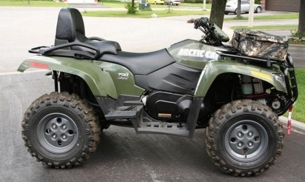 WANTED — older 2-up ATV Quad or SxS