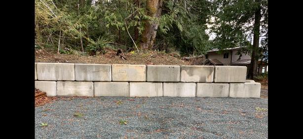 Concrete Octa-Blocs/Lego Blocks