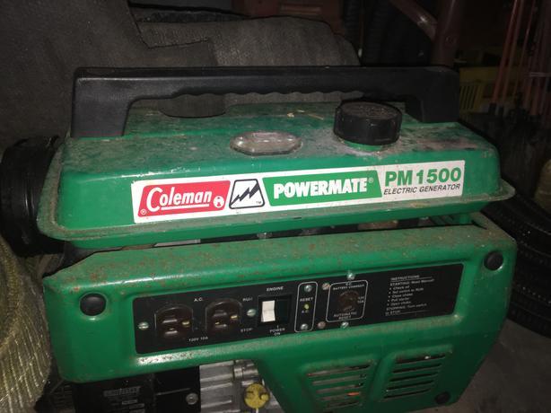 Gas generator Coleman POWERMATE PM 1500