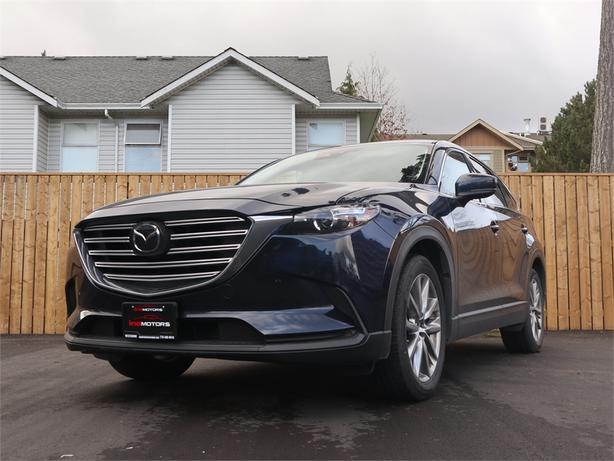 2019 Mazda CX-9 2.5L 4 Cylinder, AWD, Automatic - FULLY LOADED!