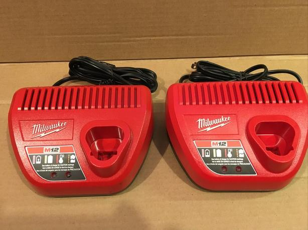 Milwaukee battery chargers M12