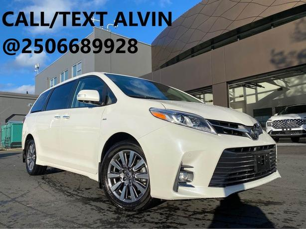 2020 TOYOTA SIENNA LIMITED AWD  SUPER LOW MILEAGE  LIKE NEW