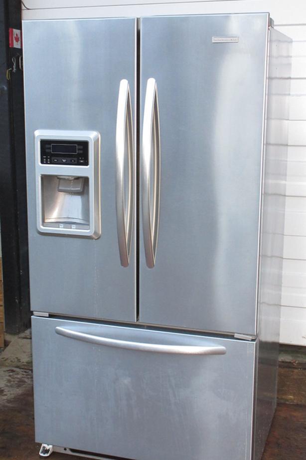Kitchenaid Door Fridge - Excellent condition - Stainless Steel
