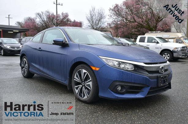 2016 Honda Civic EX One Owner Coupe