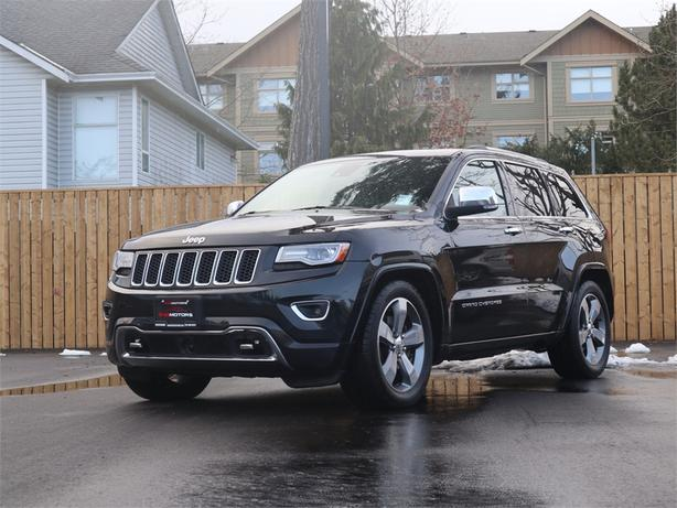 2014 Jeep Grand Cherokee Overland 3.0L V6, AWD, Automatic - DIESEL!