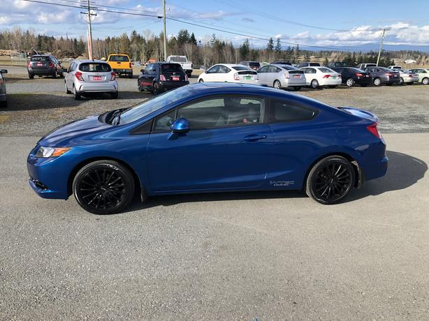 2012 Honda Civic Si Coupe, 2.4L 4CYL VTEC 200HP, 182,200Kms 6 Speed Standard