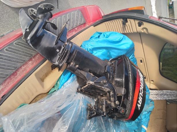8hp Merc 2 stroke short shaft
