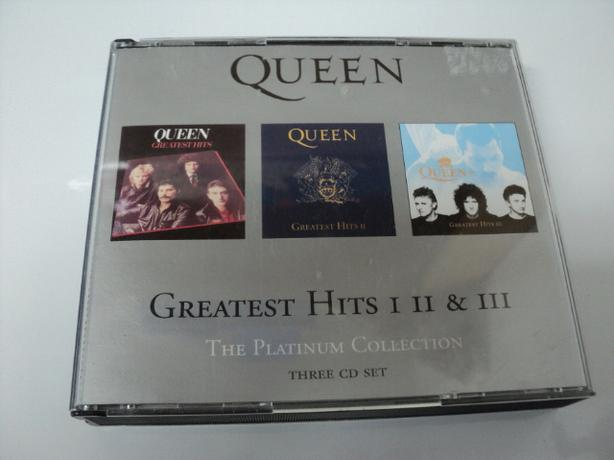 QUEEN GREATEST HITS I, II & III. THE PLATINUM COLLECTION. 51 SONGS