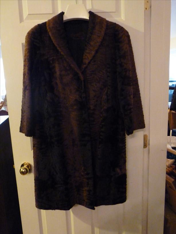 Vintage Dempster's fur coat