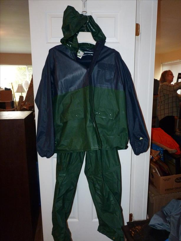 Cedar Key rain gear, jacket and pants