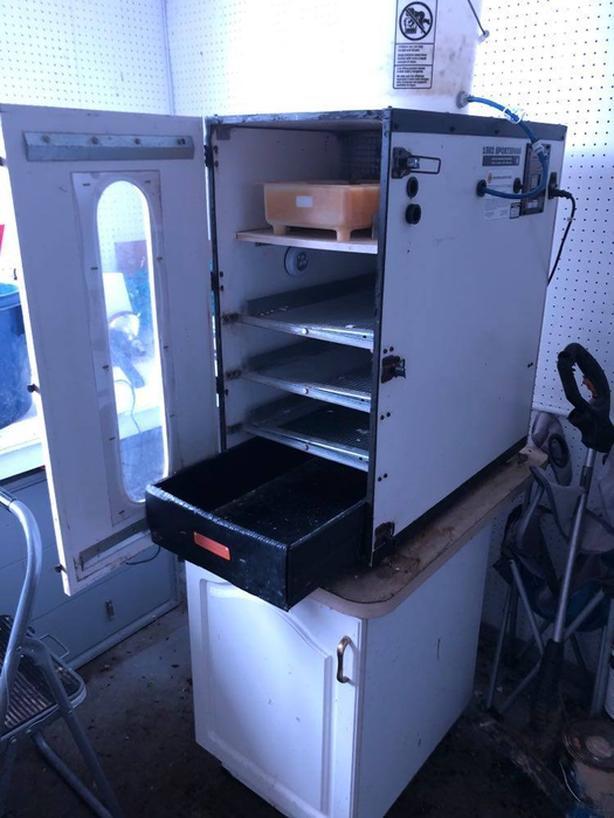 Used GQF Cabinet Incubator