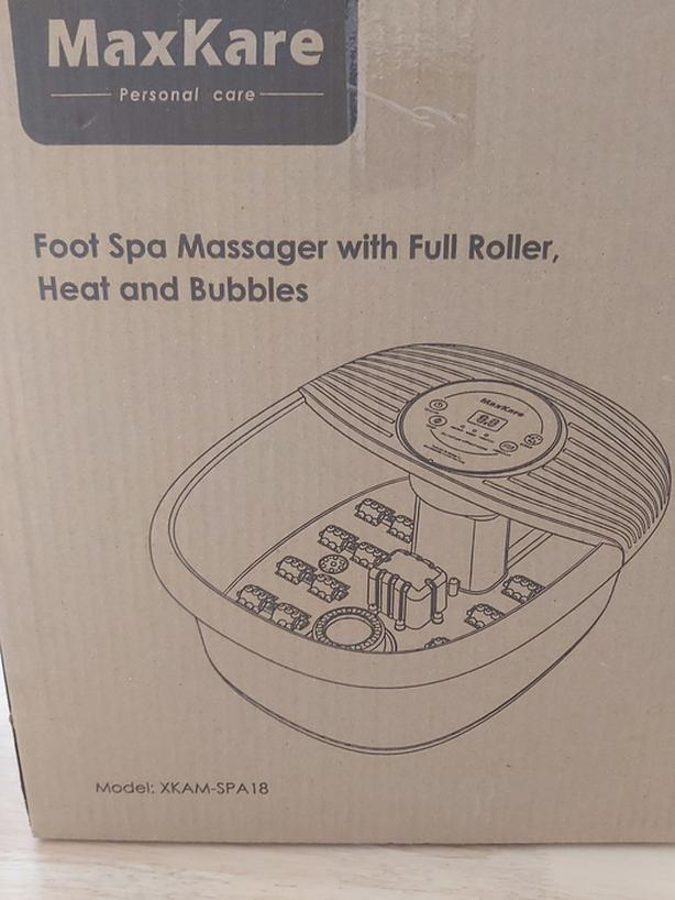 Foot Spa Massager with Heat