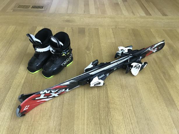 Kids Skis and Ski Boots