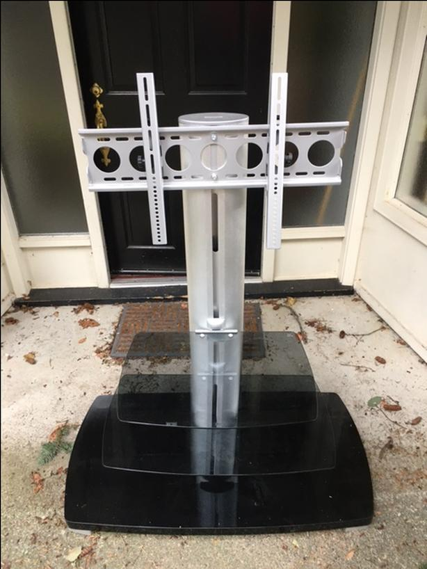 Audio/Visual stand for TV and audio visual equipment