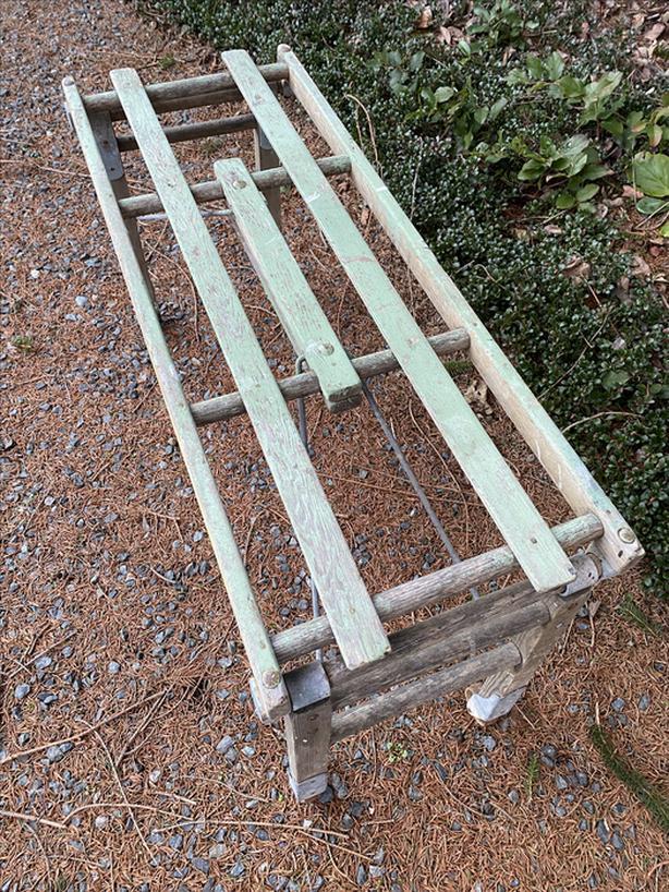 Authentic Antique BT Tub Bench