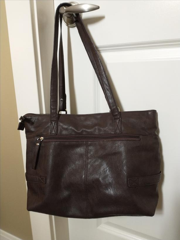 Brown Leather MINELLI Italy Handbag