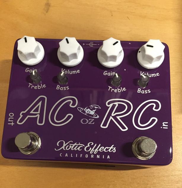 Xotic AC/RC-Oz dual overdrive