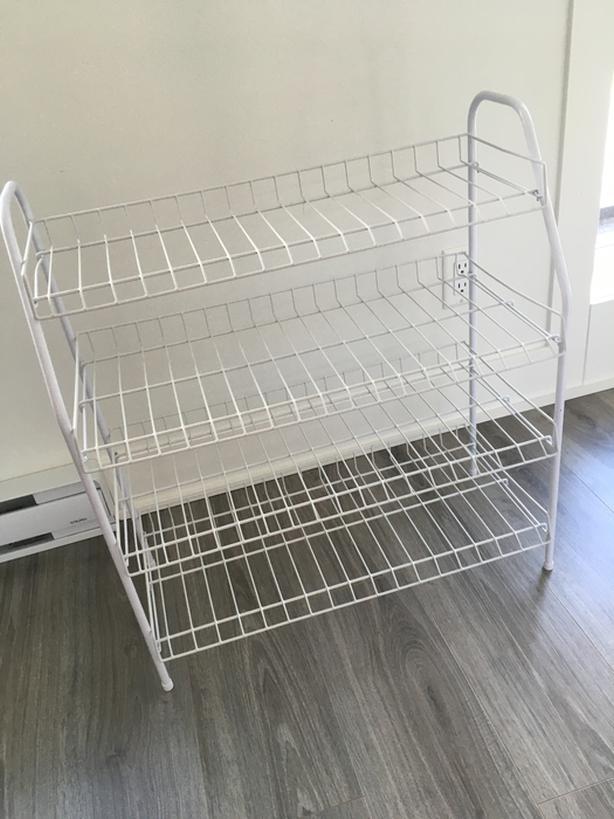 Wire shoe / pantry / storage rack