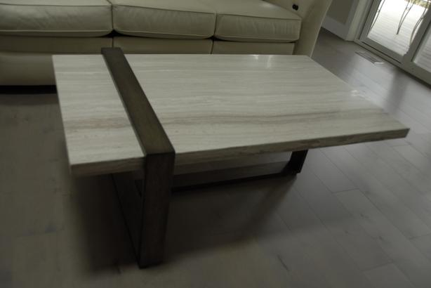 Marble top coffee and end table