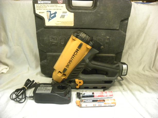 """#173688-6 Bostitch 3-1/2"""" gas paper tape framing nailer"""