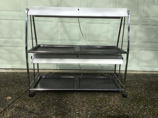 Plant & vegetable starter grow tray - two level