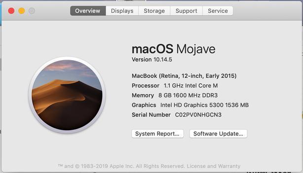 MacBook (Retina, 12-inch, 2015)