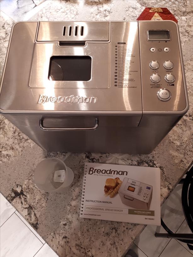 Breadman 1060BC Bread Machine