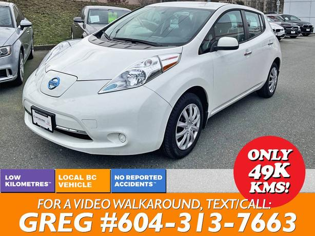 2015 Nissan Leaf S Electric Family Car - the future is NOW