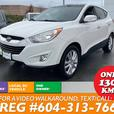 2013 Hyundai Tucson LIMITED SUV LOADED 1-OWNER BC UNIT