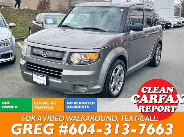 2007 Honda Element SC SUV CLEAN CARFAX! ACCIDENT-FREE!