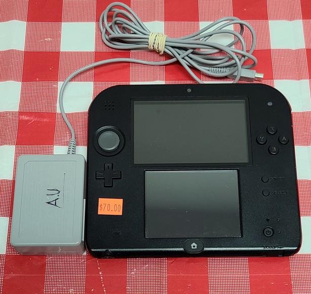 Red & Black Nintendo 2DS Console