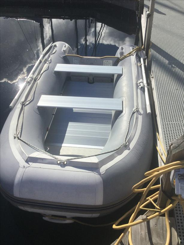 Seabright 290H, hypalon inflatable